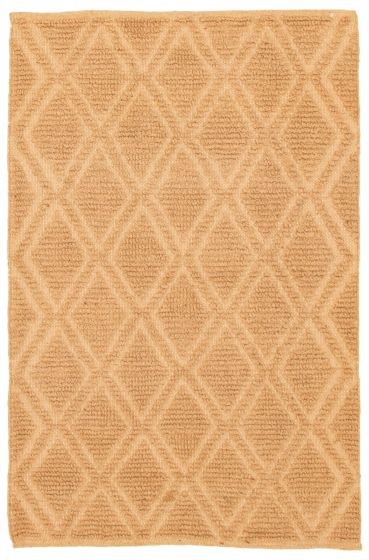 Braided  Transitional Brown Area rug 3x5 Indian Braid weave 344582