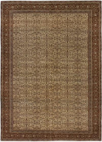 Bordered  Vintage Brown