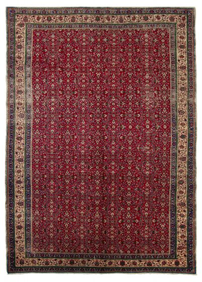 Floral  Traditional Red Area rug 6x9 Turkish Hand-knotted 317485