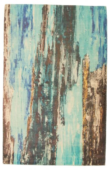 Blue rug medium
