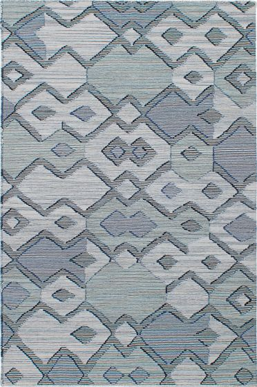 Transitional Grey Area rug 5x8 Indian Flat-weave 230533