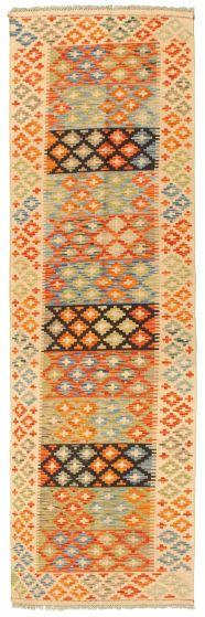 Bordered  Flat-weaves & Kilims Brown