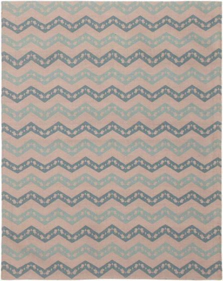 Casual  Contemporary Grey Area rug 4x6 Indian Handmade 306094