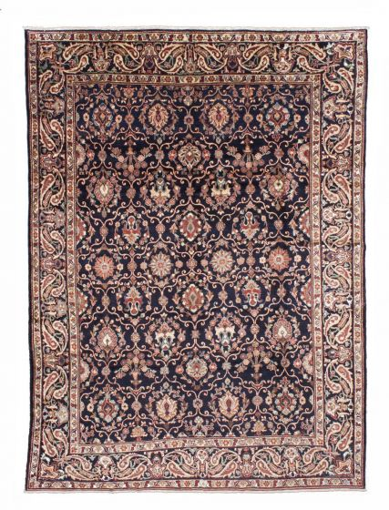 Traditional Blue Area rug 9x12 Persian Hand-knotted 206563