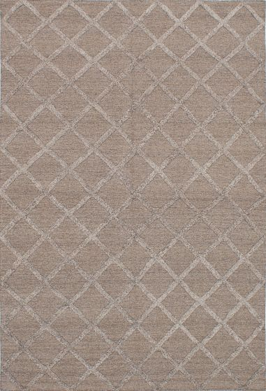 Carved  Transitional Green Area rug 5x8 Indian Flat-weave 218806