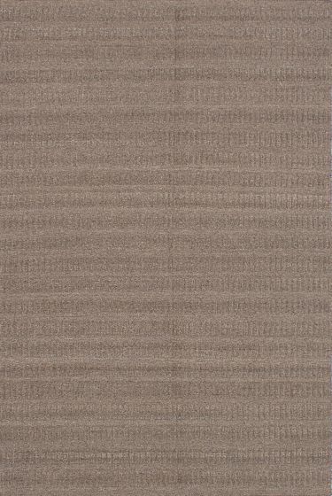 Carved  Transitional Green Area rug 5x8 Indian Flat-weave 218959