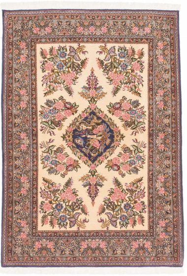 Traditional Blue Area rug 3x5 Persian Hand-knotted 202519