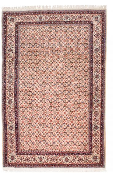 Traditional Blue Area rug Unique Persian Hand-knotted 206943