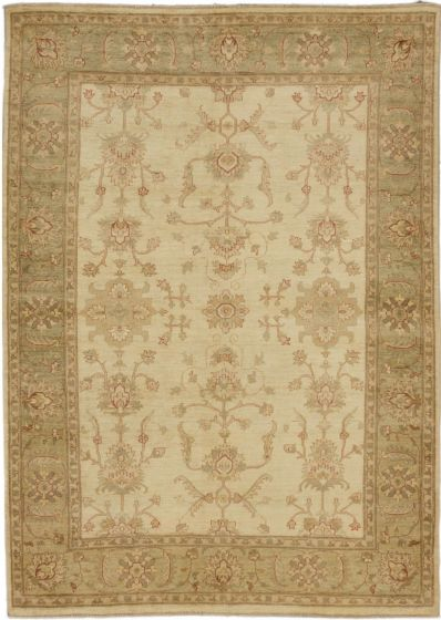 Traditional Blue Area rug 5x8 Pakistani Hand-knotted 162766