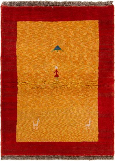 Gabbeh  Tribal Red