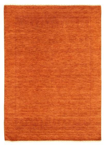 Gabbeh  Tribal Brown Area rug 4x6 Indian Hand-knotted 344787