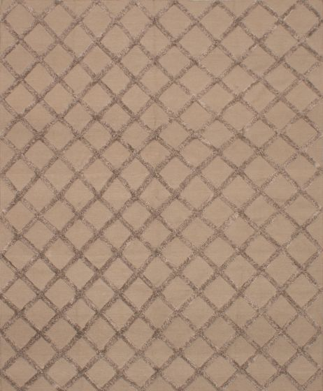 Carved  Transitional Green Area rug 9x12 Indian Flat-weave 219014