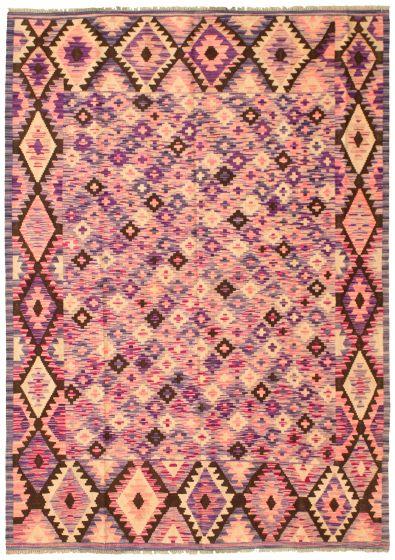 Bordered  Geometric Pink