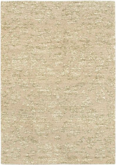 Contemporary Grey Area rug 4x6 Indian Hand Loomed 59115