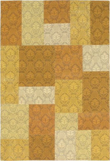 Yellow rug medium