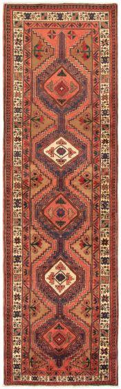 Brown rug runner