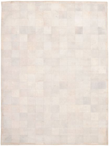 Accent  Transitional Grey Area rug 10x14 Argentina Handmade 340013