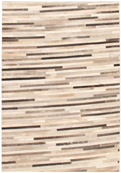 Accent  Transitional Ivory Area rug 3x5 Argentina Handmade 340320