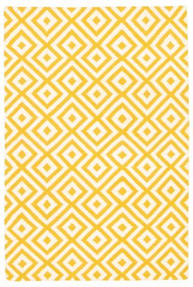 Flat-weaves & Kilims  Transitional Orange Area rug 4x6 Indian Flat-weave 344557