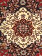 """Chinese Sino-Persian-220L 6'2"""" x 9'2"""" Hand-knotted Wool Dark Burgundy Rug - Closeout"""