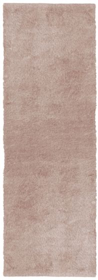Accent  Solid Ivory Runner rug 6-ft-runner Imported Handmade 328544