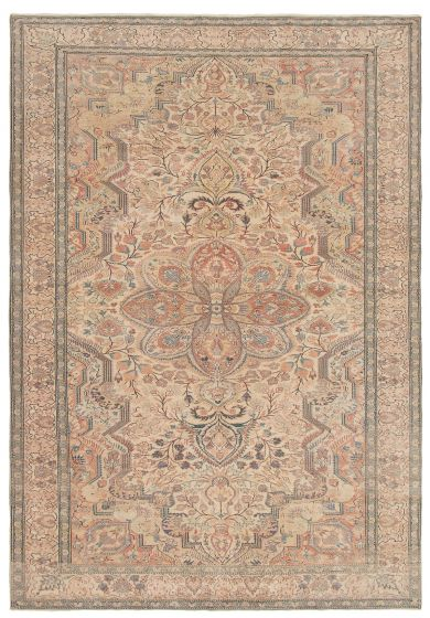 Ivory rug large