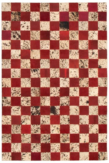 Accent  Transitional Red Area rug 3x5 Argentina Handmade 340287