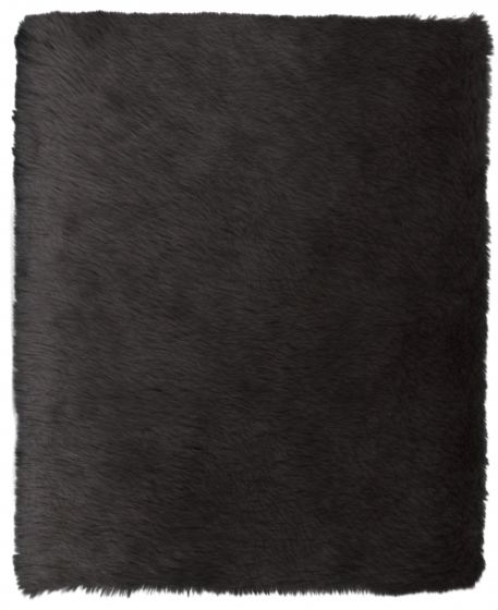 Accent  Solid Grey Area rug 2x3 Imported Handmade 328582