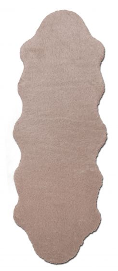 Accent  Solid Ivory Area rug Unique Imported Handmade 328560