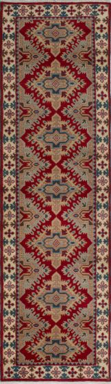 Geometric  Traditional Red