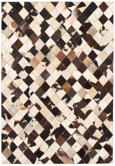Accent  Transitional Ivory Area rug 4x6 Argentina Handmade 340315
