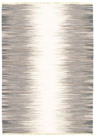 Flat-weaves & Kilims  Transitional Grey Area rug 5x8 Turkish Flat-weave 344436