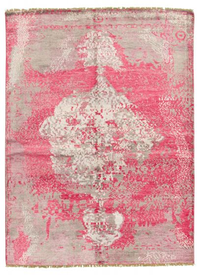 Pink rug medium