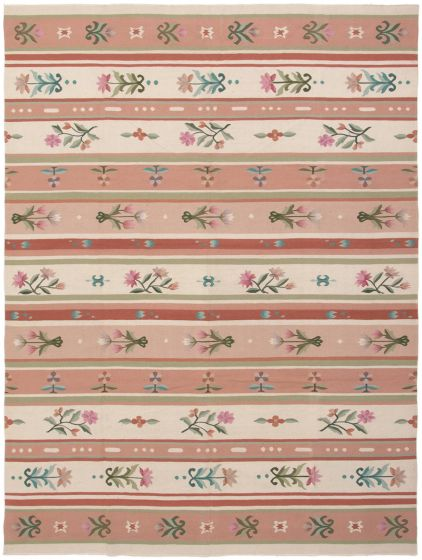 Flat-weaves & Kilims  Transitional Brown