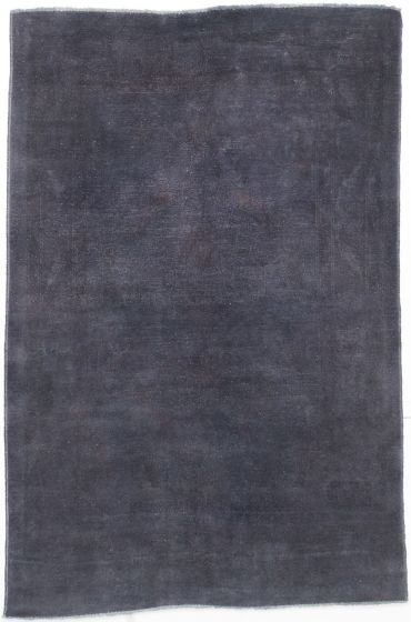 Transitional Grey Area rug 4x6 Turkish Hand-knotted 205118