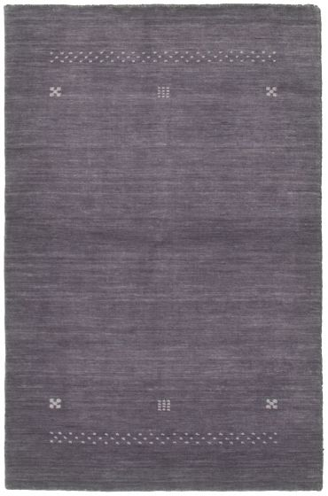 Gabbeh  Tribal Grey Area rug 3x5 Indian Hand-knotted 335988