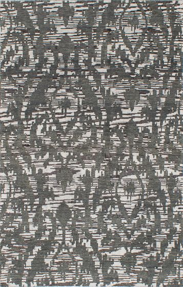 Transitional Green Area rug 5x8 Indian Hand-knotted 221911
