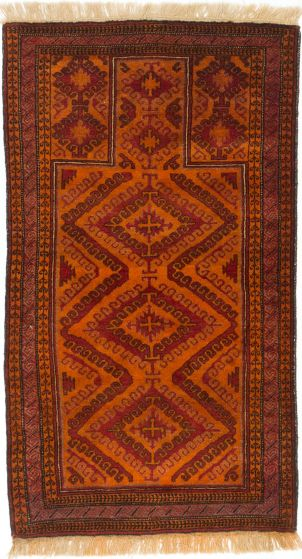 TraditionalTribal Orange