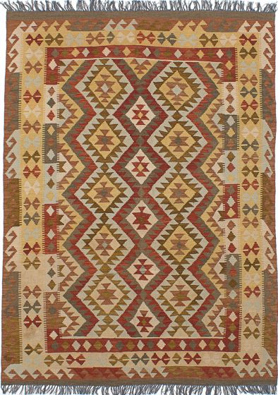 Flat-weaves & Kilims  Traditional Brown