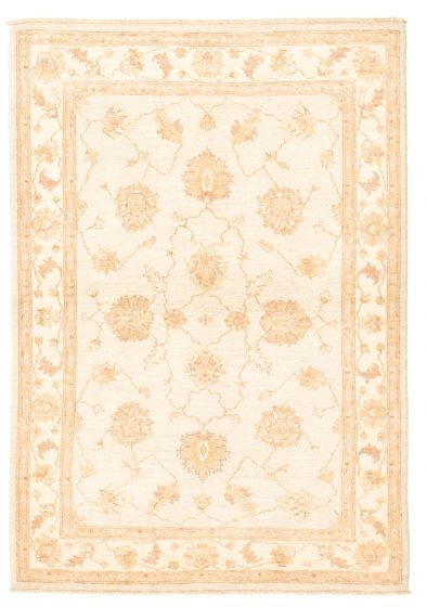 Bordered  Traditional Blue Area rug 3x5 Afghan Hand-knotted 331607