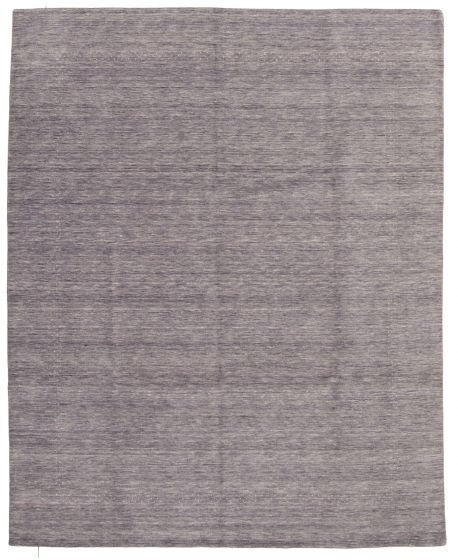 Gabbeh  Tribal Grey Area rug 6x9 Indian Hand-knotted 331240