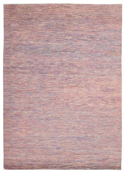 Gabbeh  Tribal Purple Area rug 10x14 Pakistani Hand-knotted 339538