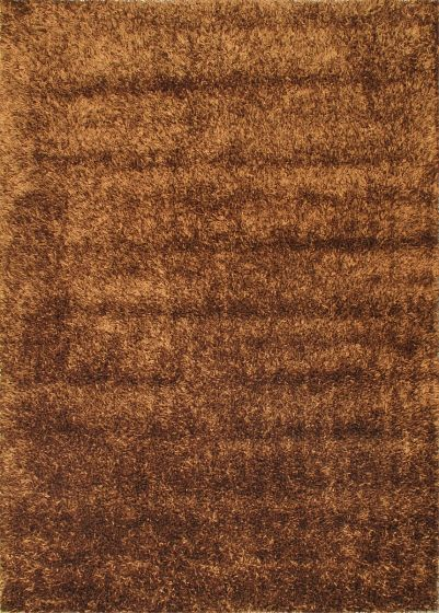 Contemporary Brown Area rug 5x8 Chinese Hand Tufted 41190