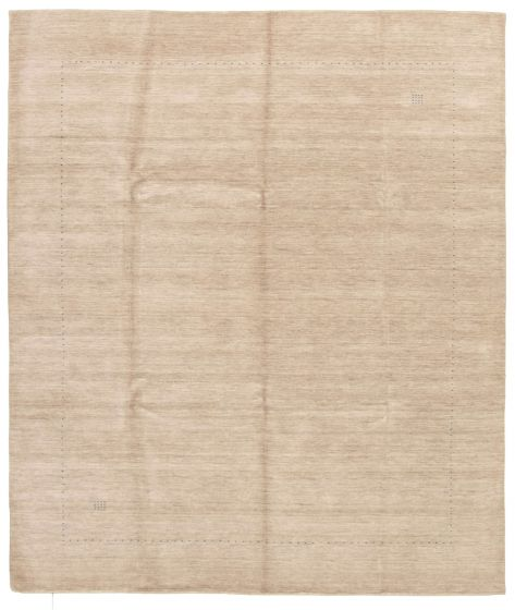 Gabbeh  Tribal Grey Area rug 6x9 Indian Hand-knotted 331257