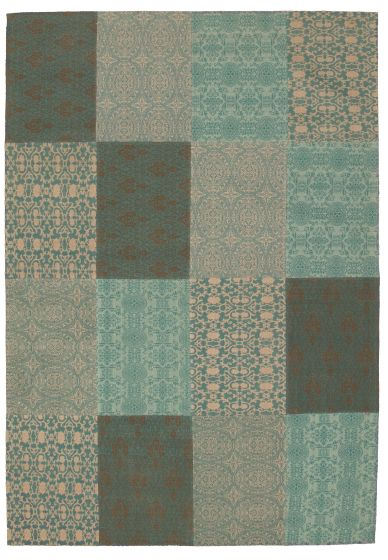 Green rug large
