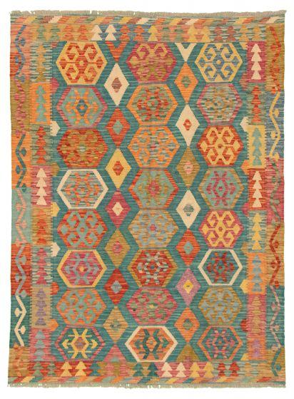 Green rug medium