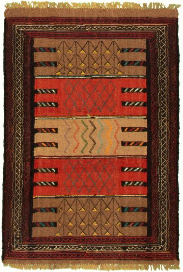Bordered  Tribal Brown