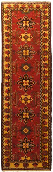 Red rug runner