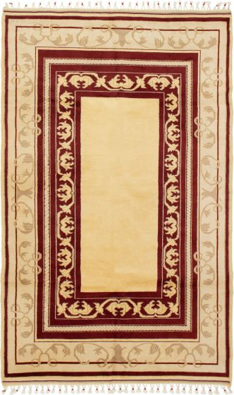 Bordered  Traditional Ivory