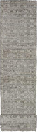 Grey rug runner